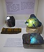 Hawk's eye and tiger's eye gems in HNHM. - Ludovika Sq 2-6., District VIII., Budapest.JPG
