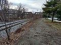 Hazelwood Trail and tracks towards Hot Metal Bridge.jpg