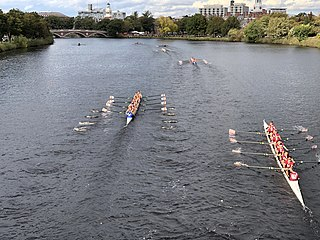 Head race Time-trial competition in the sport of rowing