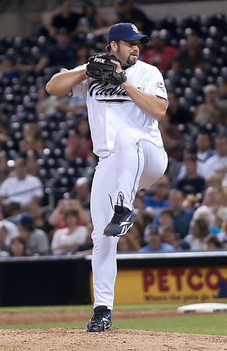 Heath Bell - Bell with the San Diego Padres