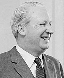 Edward Heath en 1966.