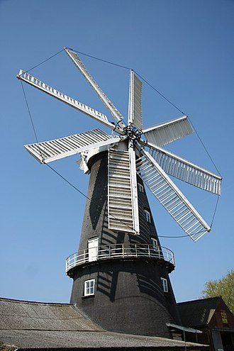 Heckington Windmill - The mill as preserved