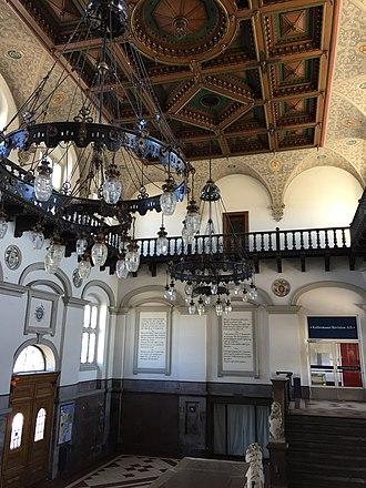Helsingør station - Main lobby