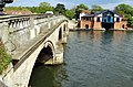 Henley on Thames Bridge and Boat House.JPG