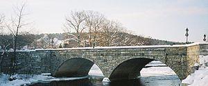 Henniker, New Hampshire - Edna Dean Proctor Bridge over the Contoocook River
