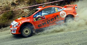 Henning Solberg - Solberg driving Peugeot 307 WRC at 2006 Cyprus Rally