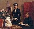 Henri Fantin-Latour - A Lição de Desenho ou Retratos, 1879.jpg