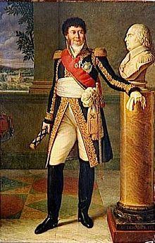 Henri Jacques Guillaume Clarke, comte d'Hunebourg, Duc de Feltre, Maréchal de France, Guillaume Descamps (Lille, 1779; Paris, 1858), 1817.