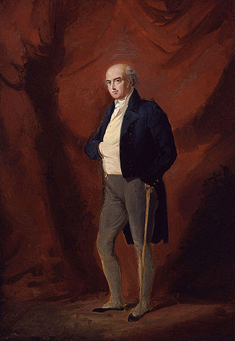 1820 in art - Image: Henry Richard Vassall Fox, 3rd Baron Holland by Sir George Hayter