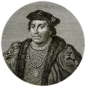 Henry Stafford, 2nd Duke of Buckingham - An 18th century illustration of Henry Stafford