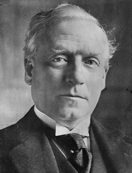 H. H. Asquith (c. 1915), prime minister at the beginning of the war