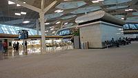 Heydər Əliyev Beynəlxalq Aeroportunun daxili.JPG