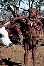 Himba girls full body naked