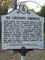 His Lordships Kindness Plaque Dec 08.JPG