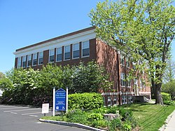 Historic Rockport High School, May 2012, Rockport MA.jpg