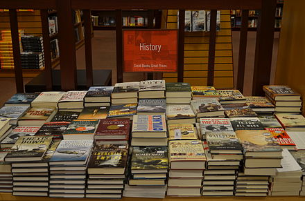 History books in a bookstore Historybooks.JPG