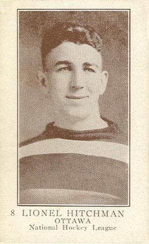 Lionel Hitchman - Hitchman with the Ottawa Senators