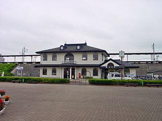 Hobara Station Railway station in Date, Fukushima Prefecture, Japan