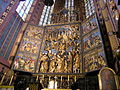 Hochaltar von Veit Stoß, Marienkirche, Krakau, Polen.JPG