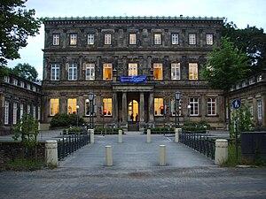 Hochschule für Musik Detmold - The main building, 2008