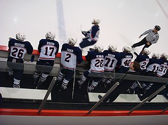Liberty Flames and Lady Flames - Liberty Hockey Team