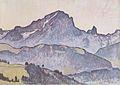 Hodler - Le Grand Muveran von Villars aus - 1912.jpeg