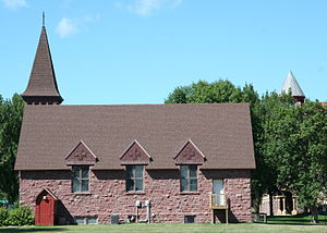Luverne, Minnesota - Holy Trinity Episcopal Church