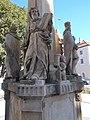 Holy Trinity column, Saint Paul, angel, 2020 Zalaegerszeg.jpg