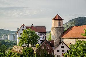 Triefenstein - Schloss Homburg.