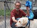 Homeless man and his dog.JPG