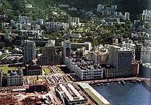 香港-二次大戰後-Hongkong Central 1955