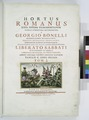 Hortus Romanus juxta systems Tournefortianum paulo (engrd. title page, V. 1) (NYPL b14444147-1124926).tiff