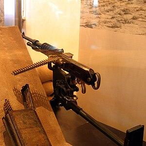 Hotchkiss M1914 machine gun - Image: Hotchkiss M 1914, MDLA