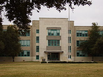 Highland Village, Houston - Image: Houston Lamar High School