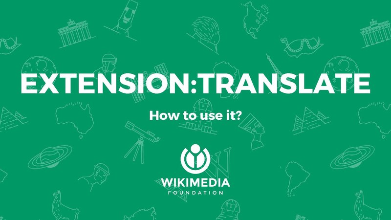 File:How to use ExtensionTranslate - Wikimania 2017.pdf