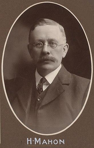 Hugh Mahon - Mahon in 1908