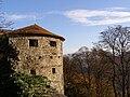 Hukvaldy, hrad, věž 01.jpg