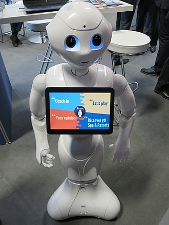 Artificial general intelligence - Photo of robot Pepper
