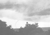One of the tornadoes at Nags Head