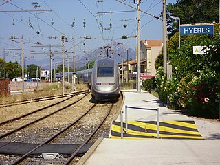 Gare dHyères railway station in Hyères, France