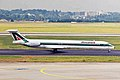 I-DACX MD-82 Alitalia DUS 13AUG99 (6908964543).jpg