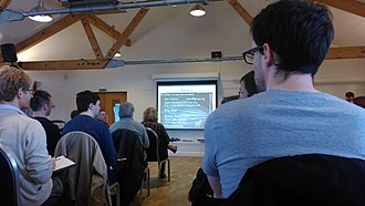 Darren Naish - TetZooCon 2015, London Wetland Centre