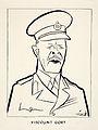 INF3-55 Field Marshal Viscount Gort Artist Vicky.jpg