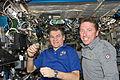 ISS-27 STS-134 Paolo Nespoli and Roberto Vittori.jpg
