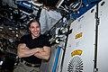 ISS-64 Hopkins with HUNCH Tape Dispenser.jpg