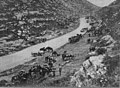 IWM Q12833 Australian 1st Light Horse Brigade resting on the road between Jerusalem and Latron 1918.jpg