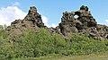 Iceland, Dimmuborgir, Volcanic Rock Formations - panoramio.jpg