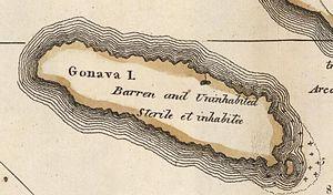 Gonâve Island - Image: Ile Gonave 1818 Carey