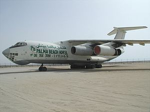 Viktor Bout - An Il 76 formerly used by Air Cess and Air Pass, both of which were owned by Bout.