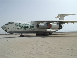 Viktor Bout - An Il 76 formerly used by Air Cess and Air Pass, both of which were owned by Bout